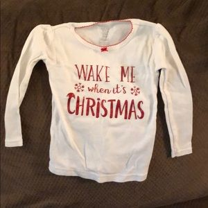 Toddler pj shirt
